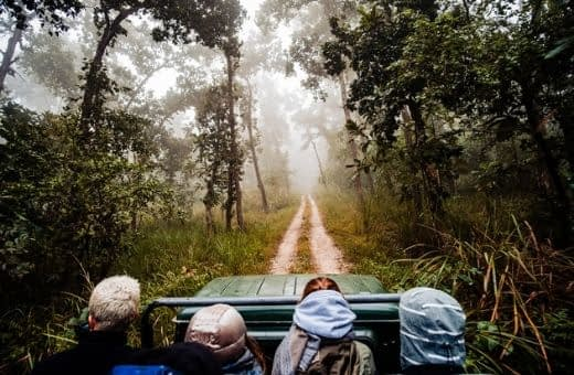 Voyage en famille nature