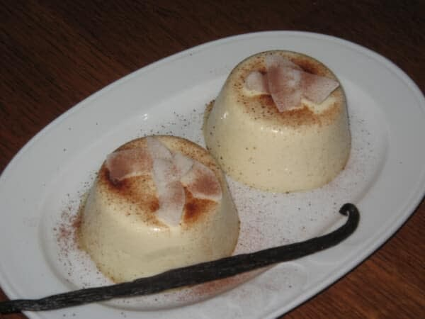 blanc manger coco dessert cuisine antillaise martinique Guadeloupe