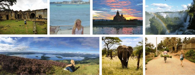 Agence de voyage Horizons Secrets photos autour du monde bandeau