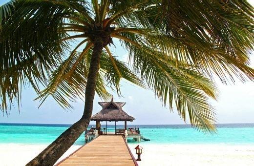 Plage - lune de miel île paradisiaque