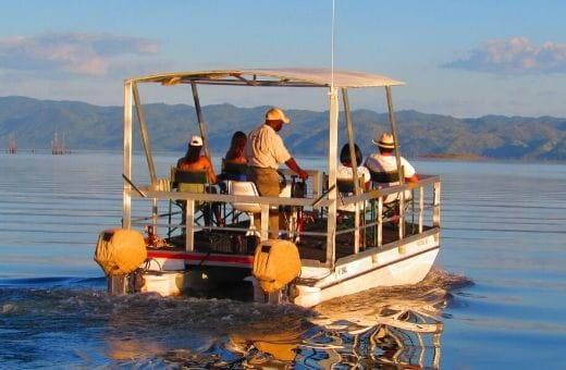 Safari au Zimbabwe sur l'eau en bateau