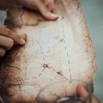 jeu de piste énigme carte trésor soirée de noël à Bordeaux