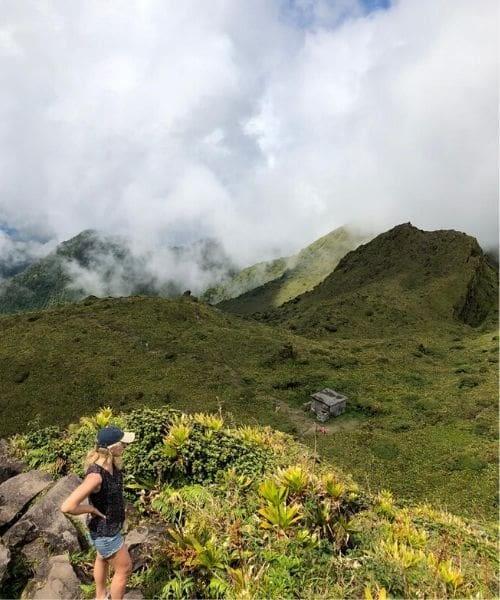 randonnée Montagne Pelée voyage aux Antilles françaises