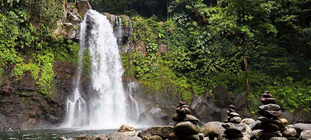 chutes du carbet- découverte de chutes sur îles