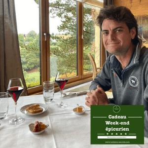 séjour épicurien carte cadeau voyage table restaurant Alsace