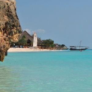 Plage turquoise voyage à Zanzibar