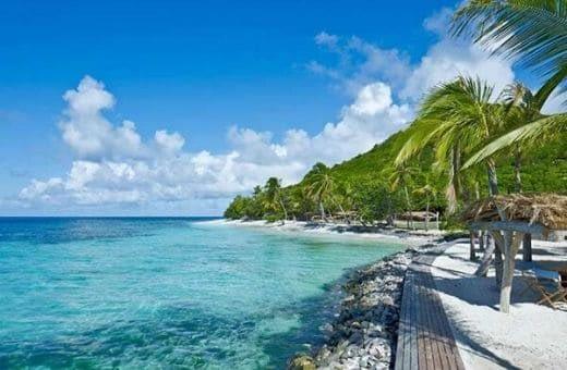 Petit saint vincent île privée hôtel de luxe iles grenadines