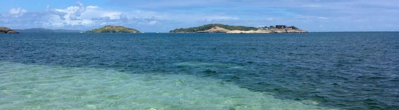 Ile aux fleurs voyage Antilles Française Lagon transparent plage paradisiaque