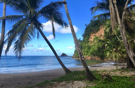 Plages des antilles plage de Batibou Dominique