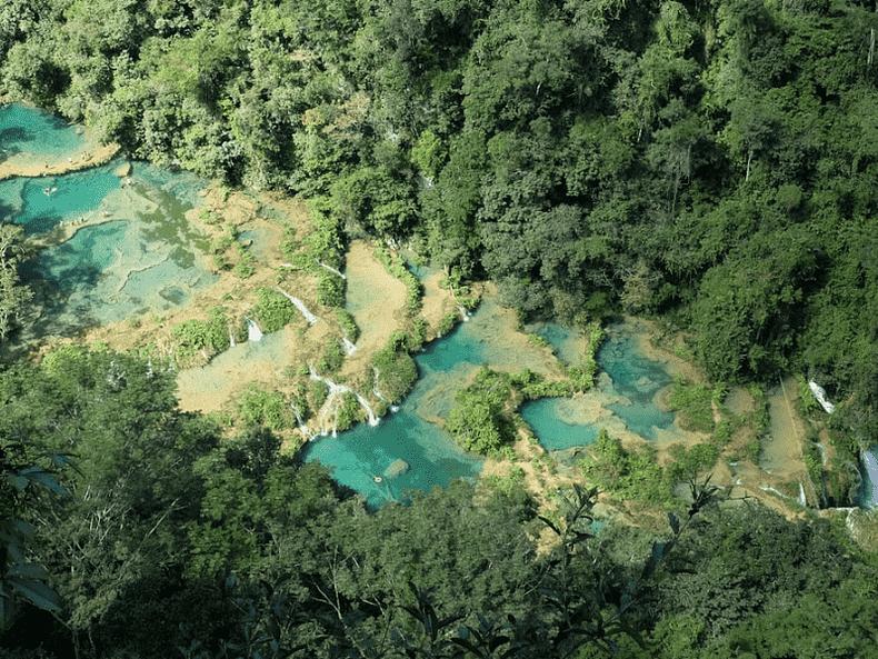 Voyage aventure Guatemala forêt ruines