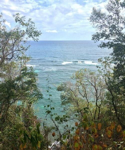 voyage aux Antilles mer turquoise