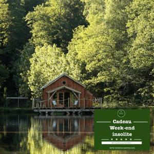 week-end insolite carte cadeau sur-mesure voyage mystère - cabane dans les bois