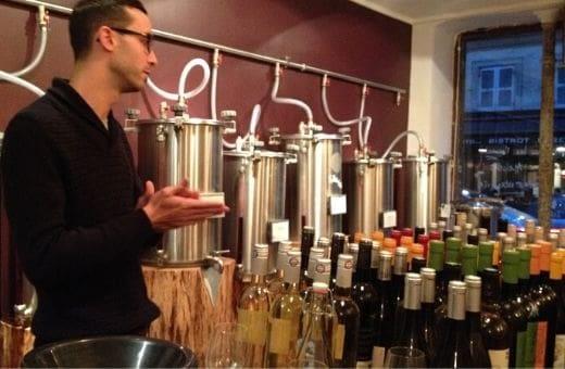 Atelier assemblage de vin