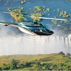 chutes victoria Zambie Zimbabwe voyage de luxe hélicoptère