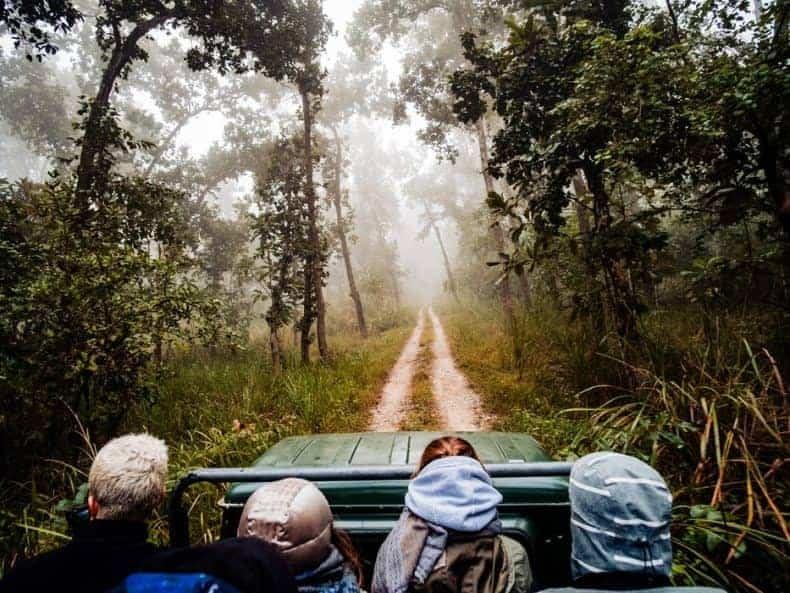 voyage aventure en famille nature 4x4 safari