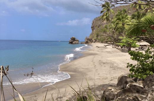voyage à Sainte Lucie plage de rêve lune de miel voyage luxe