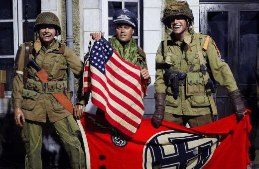 musée autour du débarquement 2ème guerre mondiale