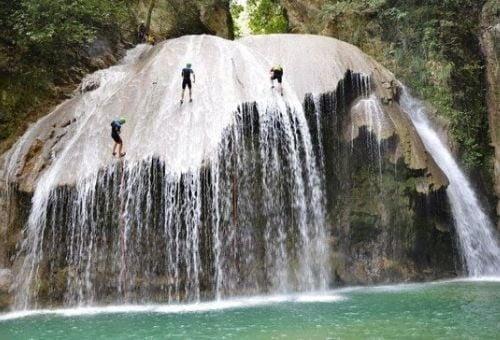 canyoning voyage sportif Antilles