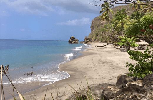 plage Anse Chastanet voyage Sainte Lucie